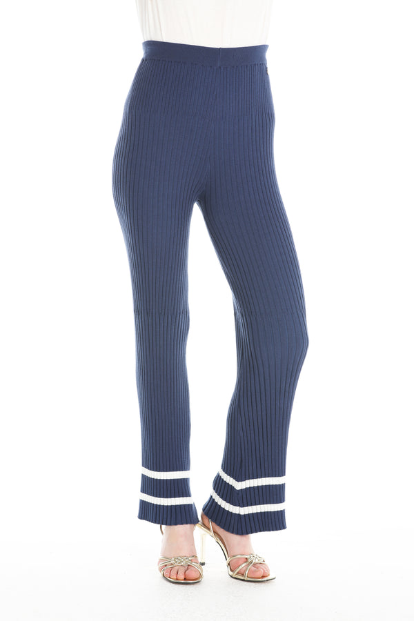 Pantalone in coste blu  SUPERIA