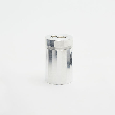 Solid Aluminum Pencil Sharpener