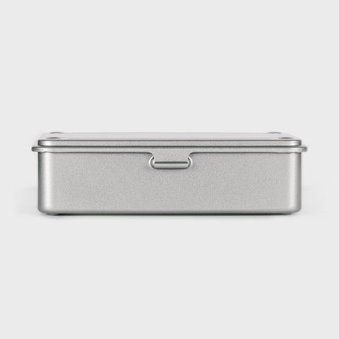Small Japanese Tool Box  Silver