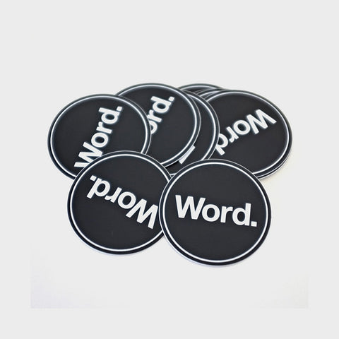 Word. Stickers - 10 Pack
