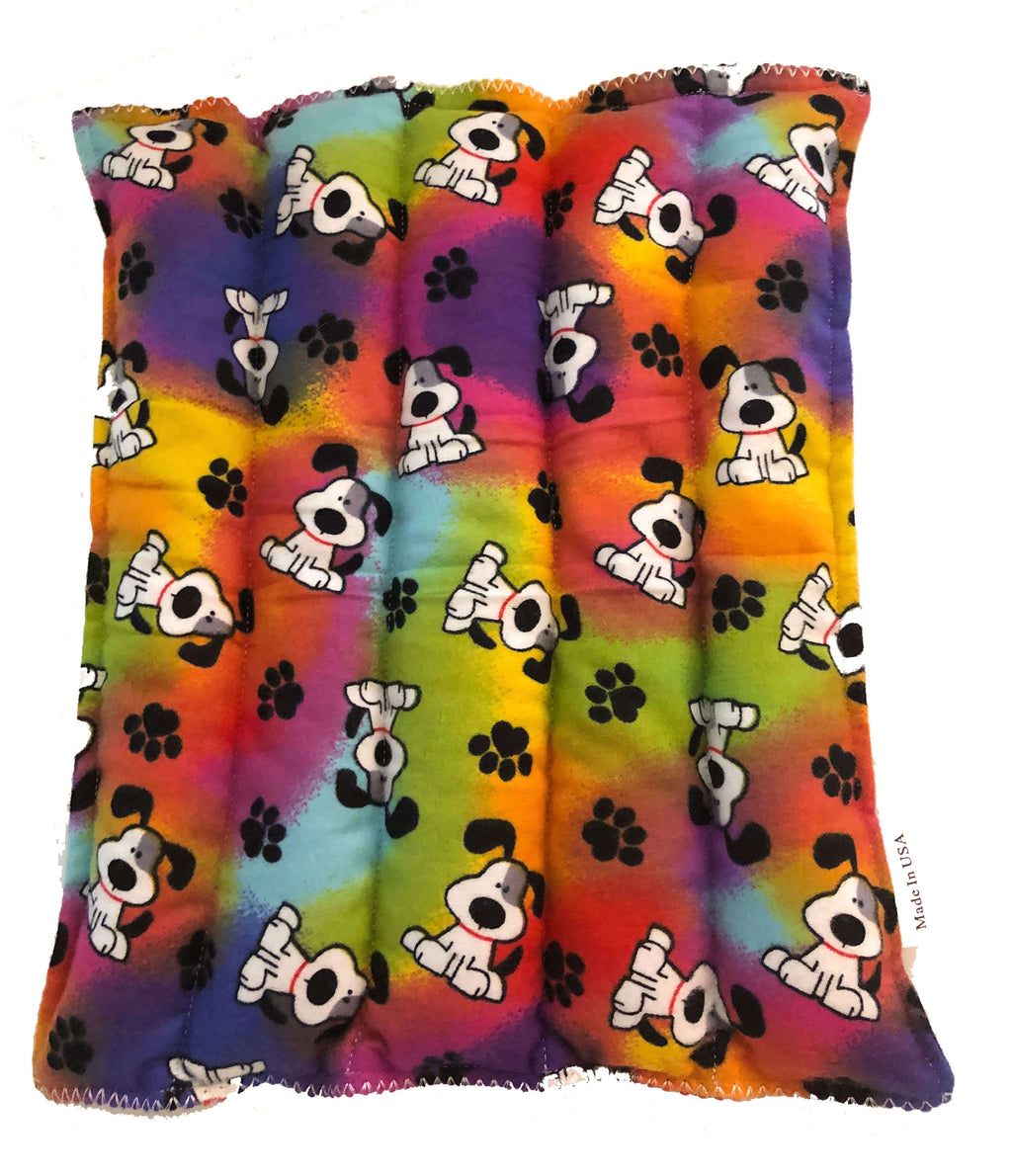 Rainbow Dog Hot-Cold Packs 44 Scents to Choose From Reusable Hot/Cold Packs Back Ouchee Heat Packs Back Pad