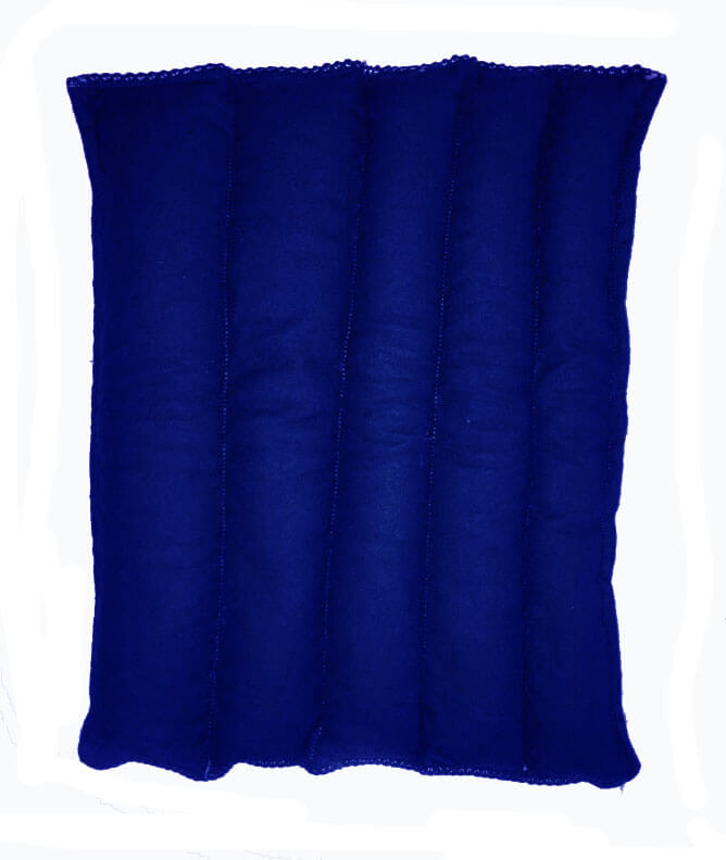 Aqua Blue Hot-Cold Packs 44 Scents to Choose From Reusable Back Ouchee Heat Packs Back Pad