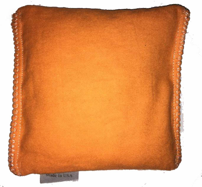 Orange Hot/Cold Packs 44 Scents to Choose From Reusable Ouchee Heat Packs BooBoo Small Rice Pack