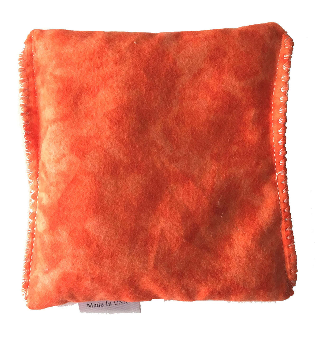 Orange Tie Dye Hot/Cold Packs 44 Scents to Choose From Reusable Ouchee Heat Packs BooBoo Small Rice Pack