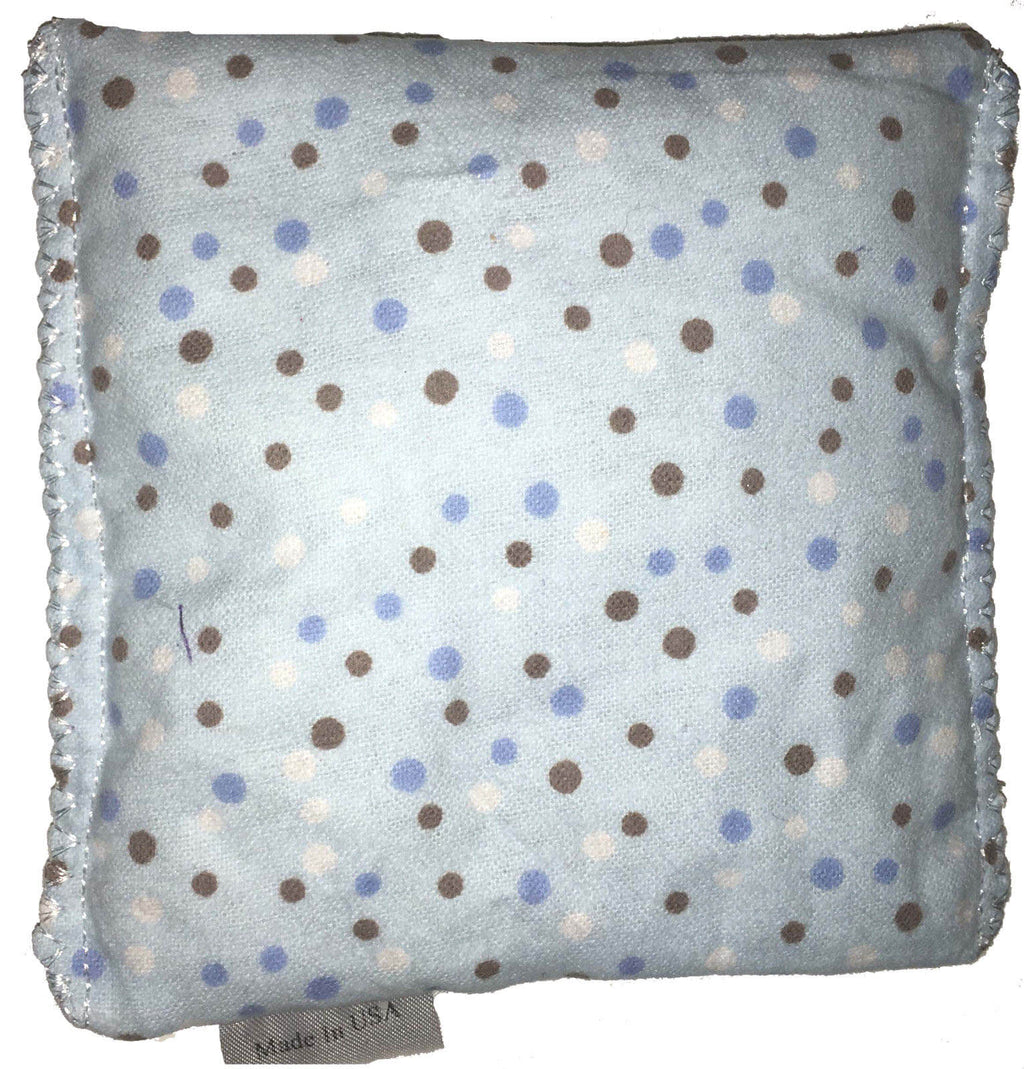Blue Polkadot Hot/Cold Packs 44 Scents to Choose From Reusable Ouchee Heat Packs BooBoo Small Rice Pack