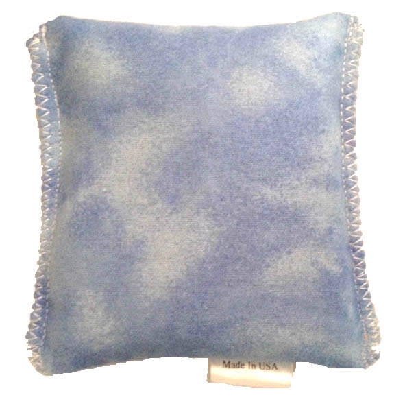 Sky Blue Tie Dye Hot/Cold Packs 44 Scents to Choose From Reusable Ouchee Heat Packs BooBoo Small Rice Pack