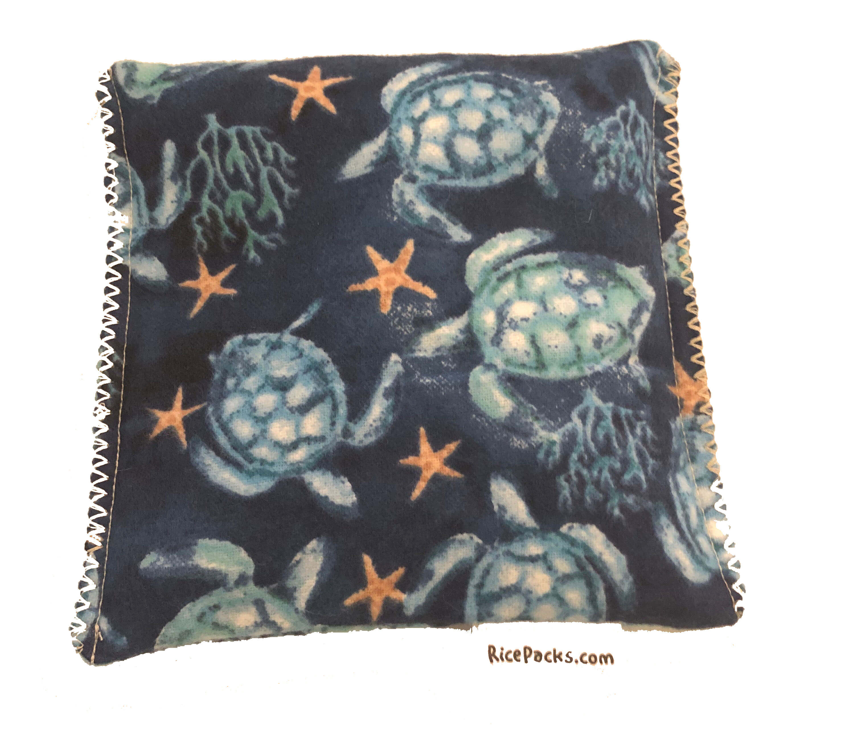 Teal Sea Turtles Hot/Cold Packs 44 Scents to Choose From Reusable Hot-Cold Packs Ouchee Heat Packs BooBoo Small Rice Pack