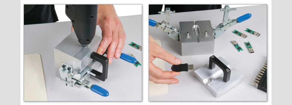 Power Adhesives Overtec Low Pressure Molding System