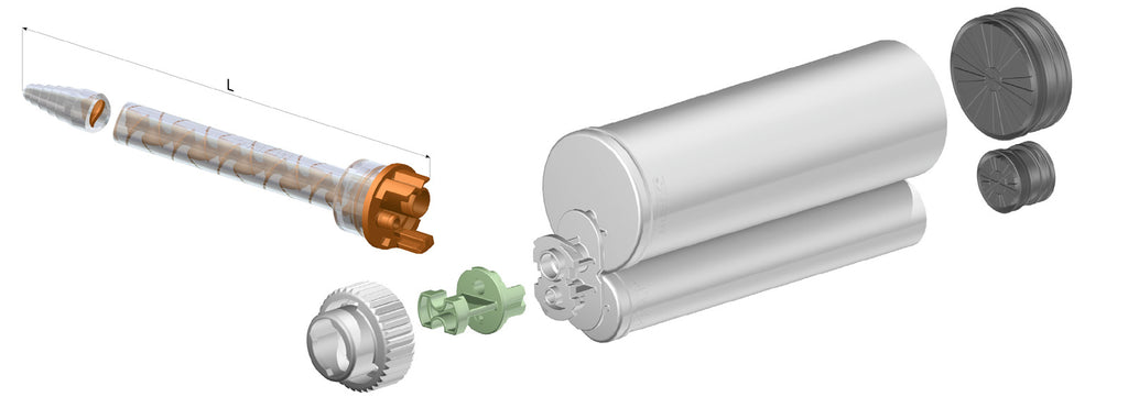 Sulzer Mixpac Static Mix Nozzles for 10:1 & 4:1 Dispensing