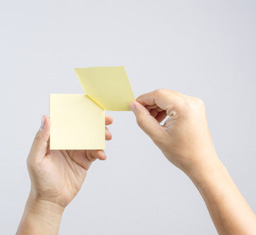 low tack post it