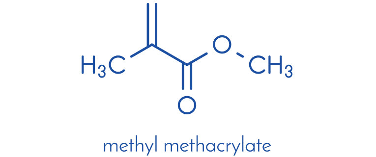 methyl methacrylate makeup
