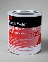 3M Nitrile High Performance Plastic Adhesive 1099 1 Gallon Can