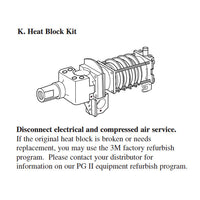 3M 9202 PG II Heat Block Repair Kit