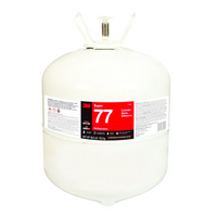3M Super 77 Spray Adhesive in Cylinder Tank