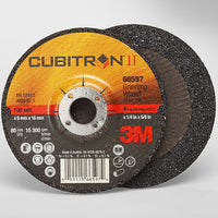 3M Cubitron II T27 depressed center grinding wheel - all sizes