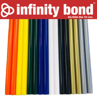 Infinity Bond Colored Hot Glue Sticks Variety Pack