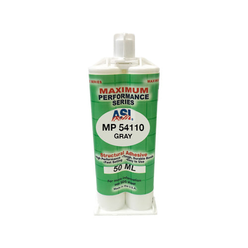 ASI MP 54110GR gray epoxy adhesive 50ml cartridge