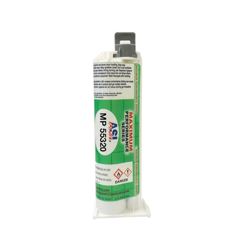 ASI MP 55320 methacrylate MMA adhesive 50ml cartridge
