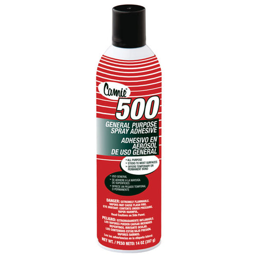 Camie 500 low VOC aerosol spray adhesive