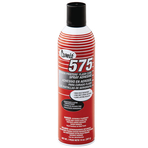 Camie 575 low VOC screen printers spray adhesive