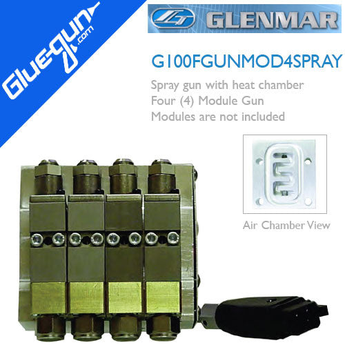 Glenmar G100F Four Module Spray Glue Gun