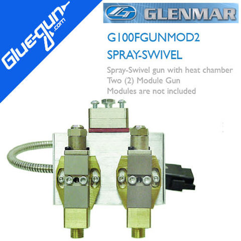 Glenmar G100 Two Module Swivel Spray Gun