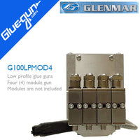 Glenmar G100LP Four Module Low Profile Glue Gun