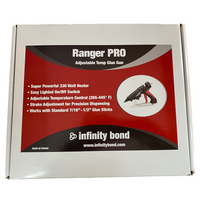Infinity Bond Ranger PRO Adjustable Temperature Glue Gun Packaging