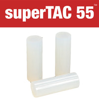 "Infinity SuperTAC 55 high performance glue sticks - 1"" X 3"" PG size"