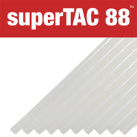 "Infinity SuperTAC 88 plastic and metal bonding glue sticks - 1/2"" size"