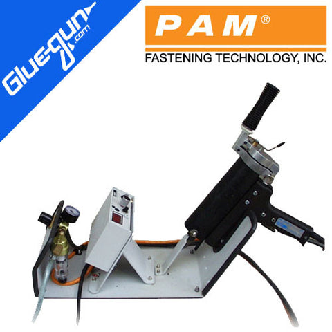 PAM Fastening HB 500HT Glue Gun with Integrated Workstation