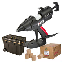 Power Adhesives Manual Precast Hot Melt Glue Gun Kit