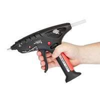 Gas TEC cordless glue gun in use