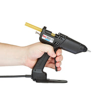 TEC 305 low temp glue gun in use