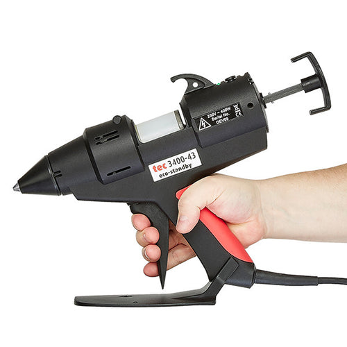 Power Adhesives TEC 3400 glue gun in-use