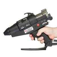 TEC 6300 pneumatic spray glue gun in use