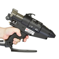 Industrial hot melt spray glue gun