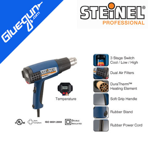 Steinel HL 2010 E Heat Gun with Temperature Display