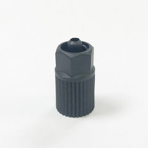 Sulzer Mixpac LA 10-00 Black Luer Lock Adapter