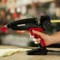 Surebonder MGG 450 motorized glue gun - in use