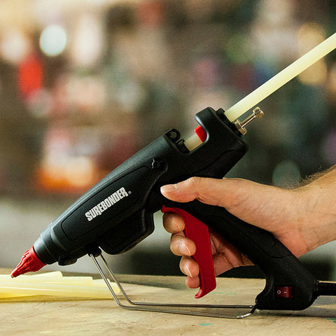 Surebonder PRO2-220 glue gun - being used