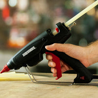 Surebonder PRO2-220LT glue gun in use