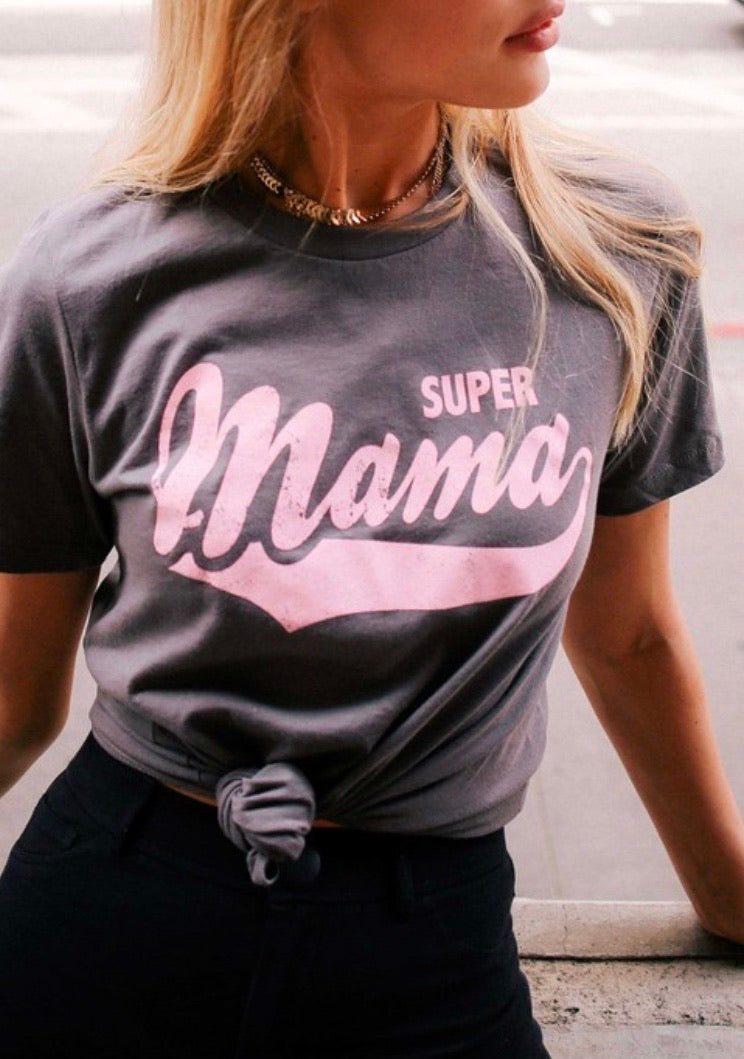 Super Momma - Grey