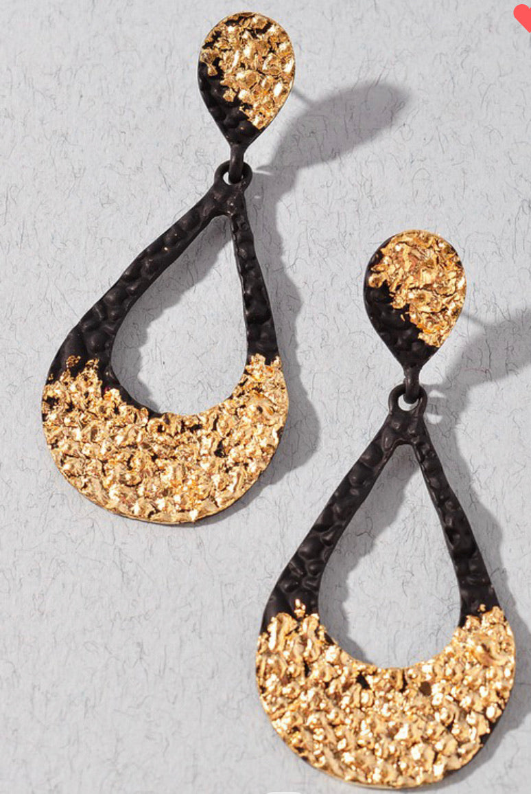 Dripping Gold - Earrings