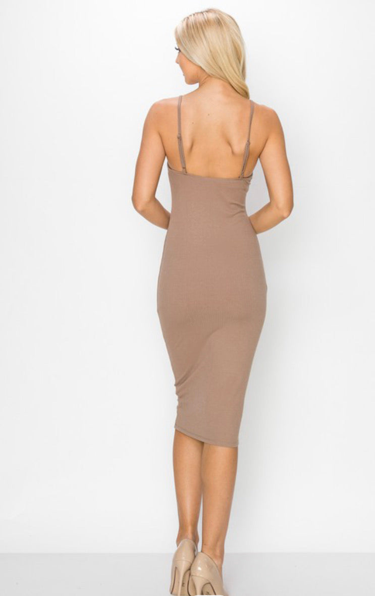 Brooklyn High Neck Dress