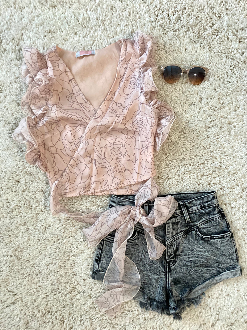 Uptown Beauty Top - Pink