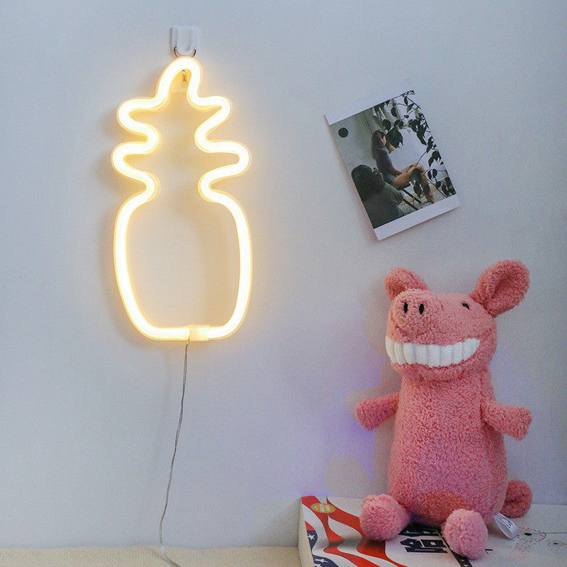 Pineapple Neon Sign