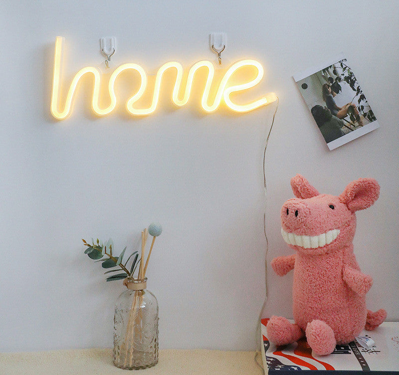 Home Neon Sign