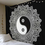 Round Yin Yang Classic Tapestry