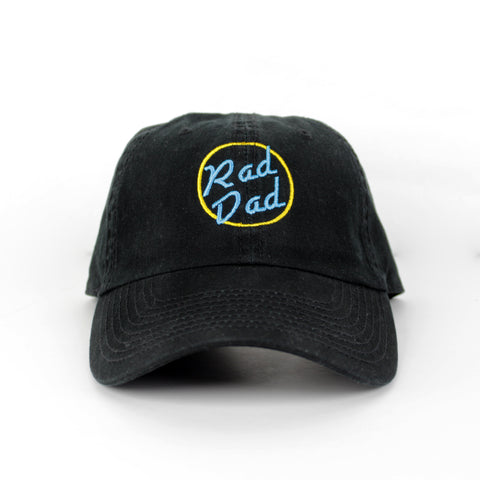 Rad Dad Make Original Black Chino Cap